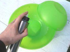 How to Make a Hypertufa Planter Step 2