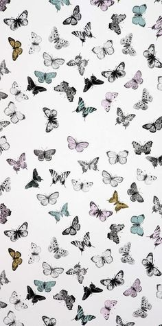 Imprimolandia: Estampado de mariposas