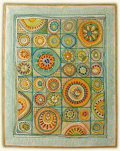 Marianne Burr: Theo's Garden  Quilts=Art=Quilts, 2008