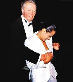 Jon Voight and daughter, Angelina