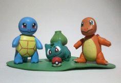 Pokemon em biscuit. http://fun-bit.lojaintegrada.com.br/