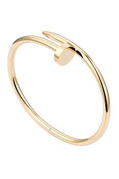 Cartier Juste un Clou 18ct yellow gold bracelet