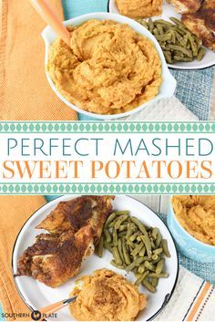 Five Approaches To Economize Transforming Your Kitchen Area Perfect Mashed Sweet Potatoes Great As A Weeknight Side Dish Or Part Of A Holiday Meal Southern Sweet Potato Recipe, Sweet Potato Recipes, Southern Recipes, Southern Food, Thanksgiving Recipes, Fall Recipes, Holiday Recipes, Apple Recipes, Holiday Treats