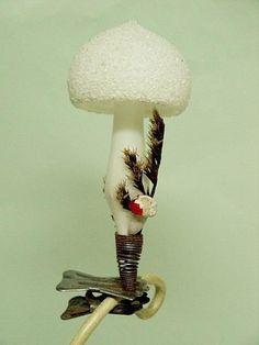mushroom on a clip