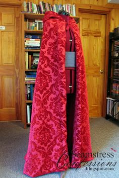 Confessions of a Seamstress: Ruby/Red's Cloak from Once Upon a Time