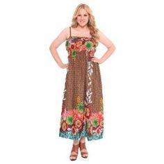 Torrid Plus Size Printed Border Maxi Dress (Apparel)  http://healthpeoplecenter.com/like/B0041PGP6I/