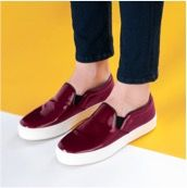 FACEBOOK GL: Reach the easygoing perfection with iconic @celine slip-on sneakers. Explore @yoox.com flat shoes selection > link