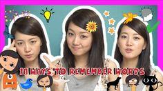 10 Ways to Remember Japanese Words