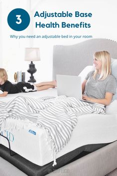 Our Lucid™ adjustable bed bases boast a suite of luxurious features that can drastically enhance your lounging and relaxation experience. Along with improving everyday comfort, adjustable bases can also help improve your overall health. Here are three areas of health that we've found personal relief that may also work for you and your family.