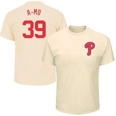 "Adam Morgan ""A-Mo"" Philadelphia Phillies Majestic 2017 Players Weekend Name & Number T-Shirt - Tan"