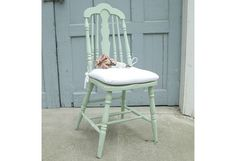 Vintage Green Chairs