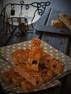 Cranberry whole wheat rusks