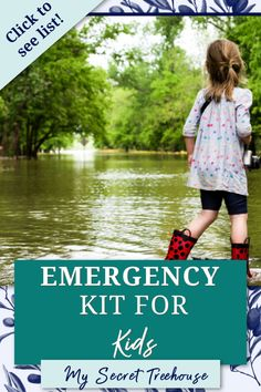 How to prepare for an emergency with a kid * kid emergency kit * emergency kit for kids * emergency go bag for kids * emergency supplies for kids #emergencypreparedness #emergencykit #emergencywithkids #emergencykitforkids #naturaldistaster #emergency #howtobuildemergencykit