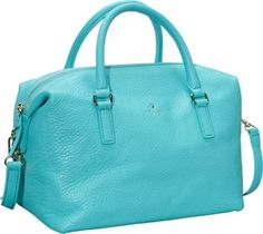 kate spade new york Henry Lane Emmy Convertible Satchel Handbag Tropic Blue - via eBags.com!