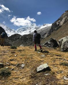 Heading for the hills - last acclimatisation hike to Llaca before heading to the Huayhuash!