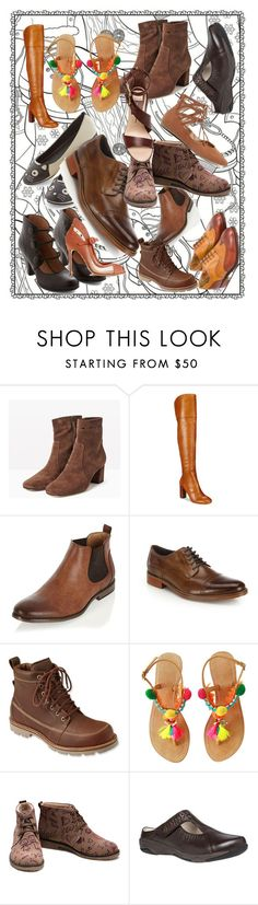 """""""Shoes"""" by kristy-lynne-lee ❤ liked on Polyvore featuring Max&Co., Britney Spears, INC International Concepts, River Island, Cole Haan, L.L.Bean, Goby, Propét and Liliana"""