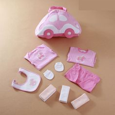 We love it and we know you also love it as well LeJin Mommy Bag Baby Rompers Baby Gift Set Clothing Set Accessories Infant Bag Bib Clothes Set Burp Newborn Gift just only $30.00 with free shipping worldwide  #babygirlsclothing Plese click on picture to see our special price for you