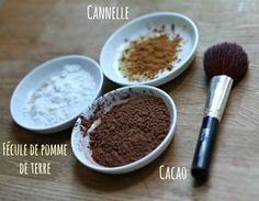 DIY_poudre_bronzante_maison made with Make Beauty, Natural Beauty Tips, Organic Beauty, Homemade Primer, Diy Beauté, Suntan Lotion, Healthy Beauty, Natural Make Up, Beauty Recipe