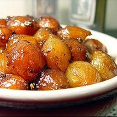 """Easy-Glazed Pearl Onions on BigOven: Try this Easy-Glazed Pearl Onions recipe, or contribute your own. """"Quick"""" and """"Onions"""" are two of the tags cooks chose for Easy-Glazed Pearl Onions."""