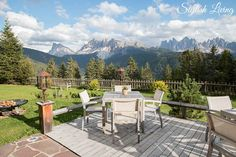 Südtirol Special Teil I - Rosalpina Dolomites Spa Quotes, Spa Rooms, Spa Design, Wellness Spa, Diy Spa, Morning Sun, Outdoor Furniture Sets, Outdoor Decor, Am Meer