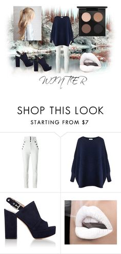 """""""winter"""" by ymargaret216 on Polyvore featuring Isabel Marant, Paisie, Gianvito Rossi and MAC Cosmetics"""