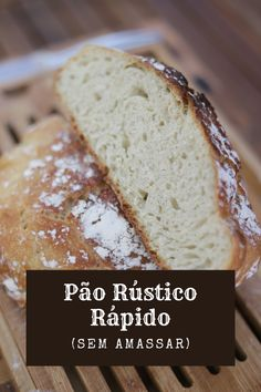 Cooking Bread, Portuguese Recipes, Banana Bread, Bacon, Food And Drink, Vegan, Breakfast, Desserts, Pasta
