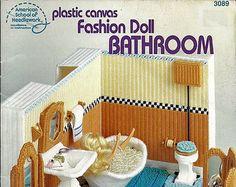 Barbie de plástico lona muebles moda muñeca por grammysyarngarden