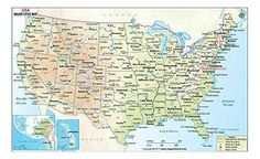 Cities in USA - Explore USA map which shows all the cities of the country. The page provides detailed clickable list of US cities Us Map With Cities, Usa Cities, Jefferson City Mo, Usa Travel Map, Highway Map, Map Store, Map Wallpaper, Wall Maps, City Maps