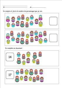 denombrer ecrire nombrjusq19 et autres +baba yaga Baba Yaga, Matryoshka Doll, Europe, Math, Blog, Carnival, Kindergarten Classroom, Nursery School, Russia