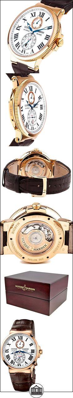Ulysse Nardin Maxi Marine Chronometer Automatic 18kt Rose Gold Mens Watch 266-67/40  ✿ Relojes para hombre - (Lujo) ✿