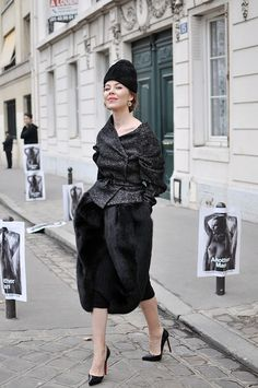 Ulyana Sergeenko always so chic...
