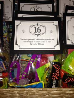 Spencer's Sweet Sixteen!