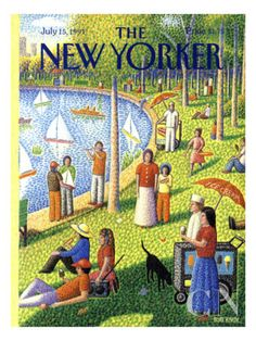 The New Yorker Cover - July 15, 1991 Poster Print by Bob Knox at the Condé Nast Collection