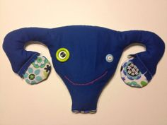 Happy Little Uterus microwaveable heating pad
