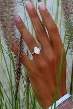 24 TOP Engagement Ring Ideas ❤️ top engagement ring ideas simple oval ❤️ See more: http://www.weddingforward.com/top-engagement-ring-ideas/ #wedding #bride