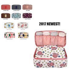 Super hot 10 colors women portable underwear storage box lady bra storage organizer box bra case UIE622