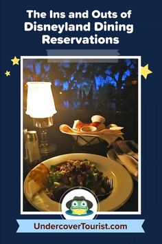 Learn the ins and outs of Disneyland dining reservations with our full guide! #disneyland #disneylandcalifornia #disneylandresort #undercovertourist Disneyland Dining, Disneyland Tips, Disneyland California, Disneyland Resort, Vacation Trips, Fun, Travel, Viajes, Destinations