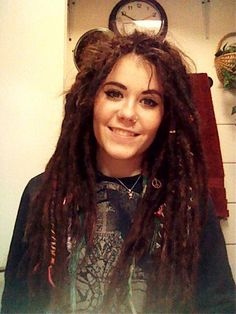 I feel like this is what my hair would look like with dreads.