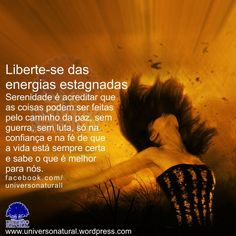 Liberte-se das energias estagnadas universe natural