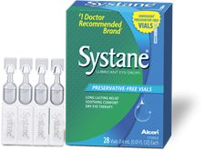 Systane 174 Contacts Lubricant Eye Drops Guai Protocol Safe