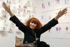 Sonia Rykiel, fashion designer known as the 'queen of knitwear,' dies at 86 ~ https://www.washingtonpost.com/business/sonia-rykiel-fashion-designer-known-as-the-queen-of-knitwear-dies-at-86/2016/08/25/a4e87fca-6ad0-11e6-8225-fbb8a | https://en.wikipedia.org/wiki/Sonia_Rykiel , http://www.soniarykiel.com | #SoniaRykiel #fashiondesigner #knitwear #fashion #style #fashionbusiness #fashionicon #fashionqueen