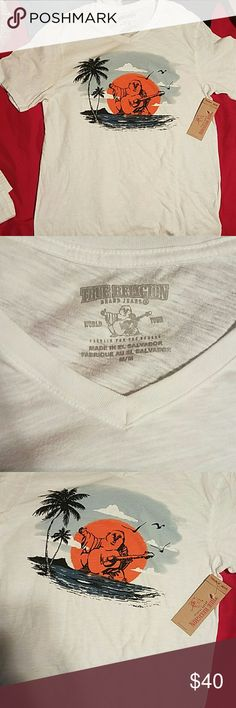 True religion shirt Buddha tee Shirts Tees - Short Sleeve