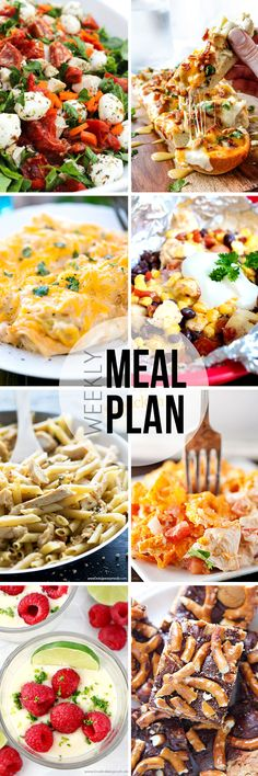 Easy Meal Plan #32 - This is such a good meal plan series to follow!