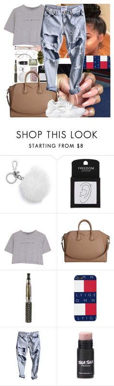 """〰〰〰"" by msixo ❤ liked on Polyvore featuring MICHAEL Michael Kors, Topshop, Hilfiger, Givenchy and NIKE"