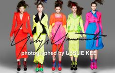 """From Jan Yohji Yamamoto will exhibit visuals of the 2014 SS collection at its Aoyama, Tokyo store. This exhibit titled """"Yohji Yamamoto × Leslie Kee Photo Exhibition"""" will be held until Feb Fashion News, Latest Fashion, Womens Fashion, Leslie Kee, Photo Exhibit, Fashion Advertising, Yohji Yamamoto, Japan Fashion, Ss 15"""