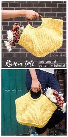 Online shopping for Totes - Handbags & Wallets from a great selection at Clothing, Shoes & Jewelry Store. Crochet Wallet, Crochet Tote, Crochet Handbags, Crochet Purses, Crochet Yarn, Free Crochet Bag, Cotton Crochet Patterns, Crochet Purse Patterns, Handbag Patterns