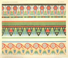 ancient Egyptian patterns