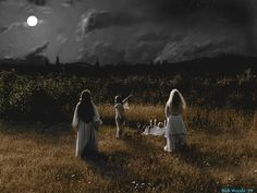 """""""Whenever ye have need of any thing, once in the month, and better it be when the moon is full, then shall ye assemble in some secret place and adore the spirit of She, who is Queen of all witches.""""  - excerpt from The Charge of the Goddess by Doreen Valiente"""