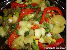 Bucataria cu noroc - Salata de cartofi de post