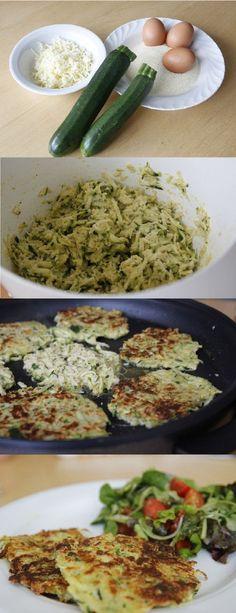 Leckeres Rezept für heikle Kinder: Zucchini-Puffer - so schmeckt Gemüse!